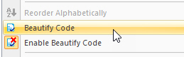 ATEasy 2021 Beautify Commands