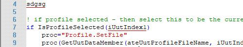 ATEasy 2021 Editor Show Syntax Errors