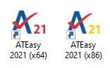 ATEasy 2021 Icons