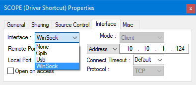 The driver's shortcut can be found in the workspace view on the right-hand side.