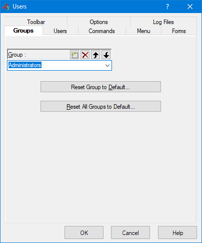 Modify groups