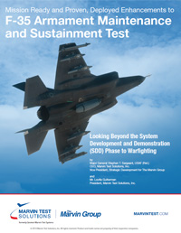 F-35 Armament Maintenance and Sustainment Test