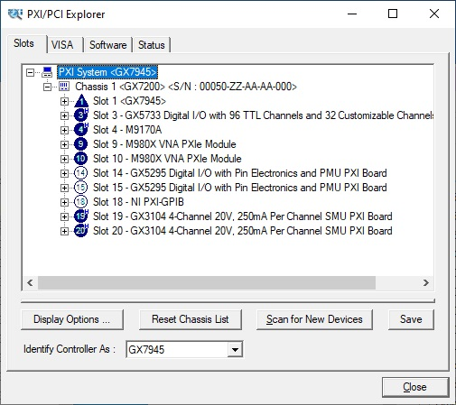 PXI/PCI Explorer Embedded Controller