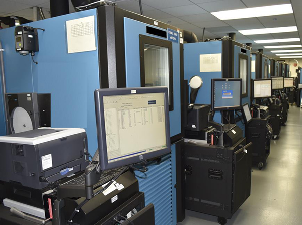 Teledyne Modular Acceptance Test Equipment with Thermal Chambers