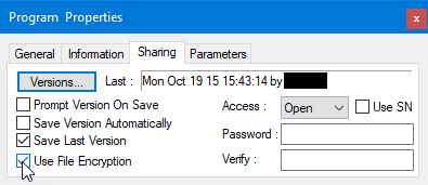 Set an access password