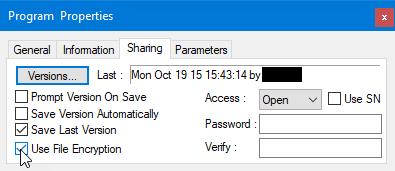 Set an access password