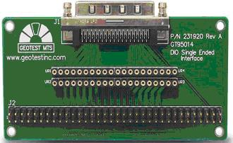 GT95014 Digital I/O Single-ended Beakout Adapter Board Product Information