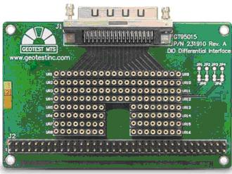 GT95015 Differential Digital I/O Breakout Adapter Board Product Information