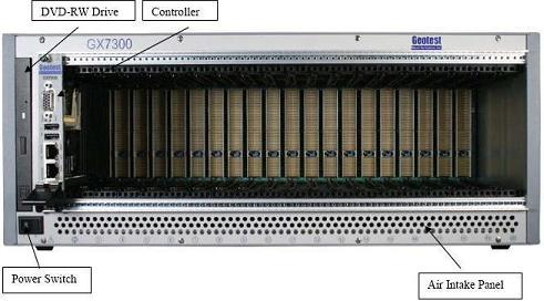 3U PXI Chassis (Geotest 3U GX7300 20-slot PXI Chassis)