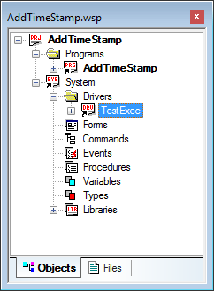 Insert TestExec to your project.