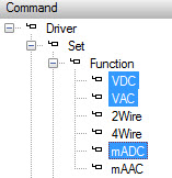 ATEasy 9.0 Multiple Commands Selection