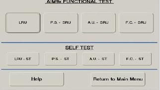 TS-217 AIM-9X Test Menu